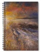 Sunrise Over The Ocean Spiral Notebook