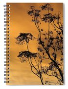 Sunrise Silhouette Spiral Notebook