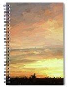 Sunset 092118 1a Spiral Notebook
