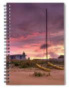 Sunset After Hurricane Spiral Notebook