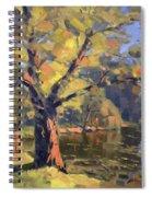 Sunset At Bond Lake Park Spiral Notebook