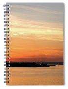 Sunset, Bay Of Palma Spiral Notebook