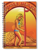 Sunset Beach Hawaii North Shore Oahu Spiral Notebook