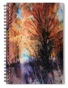 Sunset Boulevard Spiral Notebook