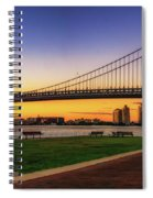 Sunset By The Ben Spiral Notebook