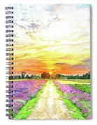 Sunset - Colors Of Nature Spiral Notebook
