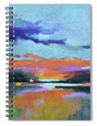 Sunset Glow Spiral Notebook