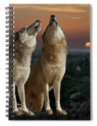 Sunset Harmony Spiral Notebook