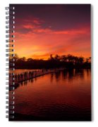 Sunset In Angkor Spiral Notebook