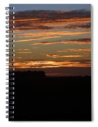 Sunset In Southern Missouri Spiral Notebook