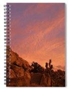 Sunset, Joshua Tree National Park Spiral Notebook