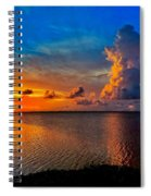 Sunset On Cudjoe Bay 8584 Spiral Notebook