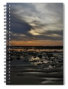 Sunset Over The Rota Corrales Spiral Notebook