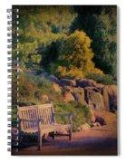 Sunset Serenade Spiral Notebook
