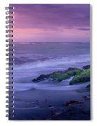 Sunset Surf On The Gulf Of Mexico, Venice, Florida Spiral Notebook