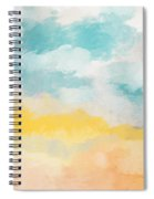 Sunshine Day- Art By Linda Woods Spiral Notebook