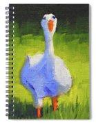 Sunshine Goose Spiral Notebook