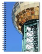 Sunsphere In Knoxville, Tn Spiral Notebook