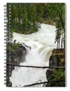 Sunwapta Falls Spiral Notebook
