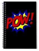 Superhero Pow Spiral Notebook