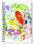 Surf Globe Trotters  Spiral Notebook