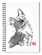 Surprised Cat Spiral Notebook