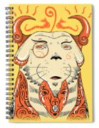 Surreal Cat Spiral Notebook