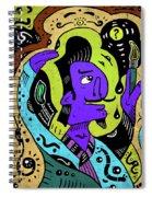 Surreal Painter Spiral Notebook
