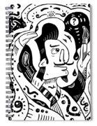 Surrealism Painter Spiral Notebook