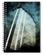 Surrounded By Darkness Spiral Notebook