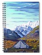 Susitna River Camp Spiral Notebook
