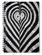 Swanlove Spiral Notebook