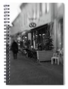 Sweden Gothenburg Haga Spiral Notebook