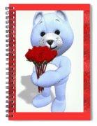 Sweet Bear Spiral Notebook