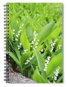 Sweet Fragrance Spiral Notebook