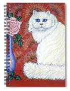 Sweetheart Cat Spiral Notebook