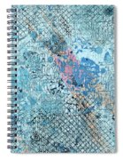 Swimming From Summer Spiral Notebook