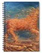 Swirly Horse 1 Spiral Notebook