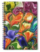 Symphony Of Color Spiral Notebook