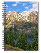 Tahoe Inspiration Point Spiral Notebook