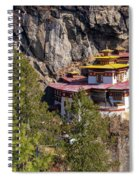 Taktsang Monastery  Spiral Notebook