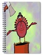 Talking Turkey Spiral Notebook