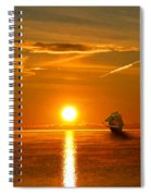 Tall Ships Of The Caribbean Spiral Notebook