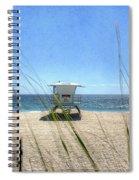 Tamarack Beach Spiral Notebook