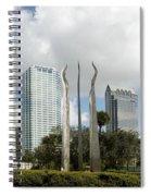 Tampa Skyline, 2007 Spiral Notebook