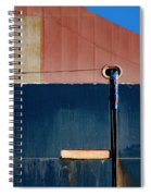 Tanker In Dry Dock Spiral Notebook