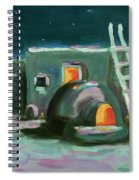 Taos At Night Spiral Notebook