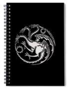 Targaryen Dragon Sigil Spiral Notebook