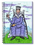 Tarot Of The Younger Self King Of Swords Spiral Notebook