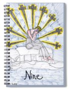 Tarot Of The Younger Self Nine Of Swords Spiral Notebook
